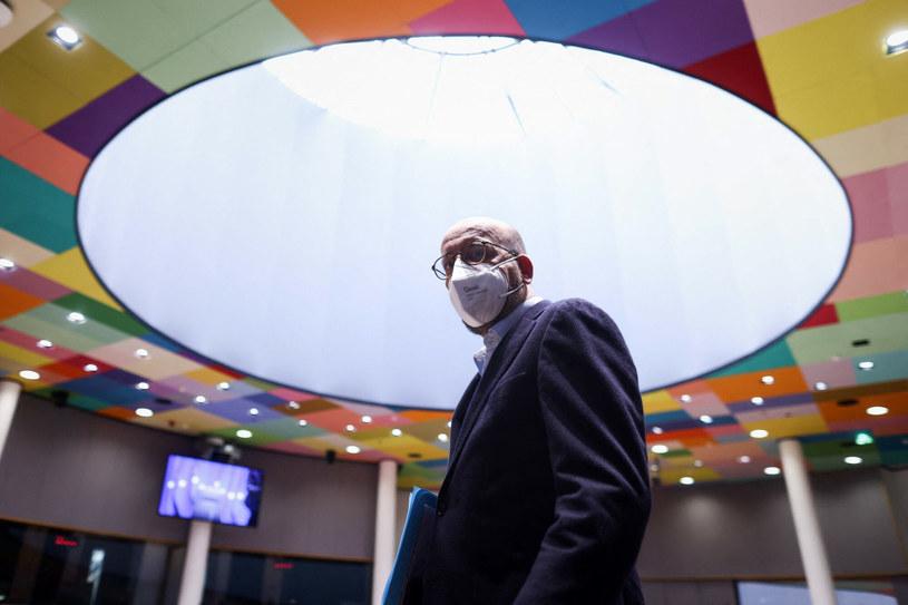 Charles Michel, przewodniczący Rady Europejskiej /KENZO TRIBOUILLARD / AFP /East News