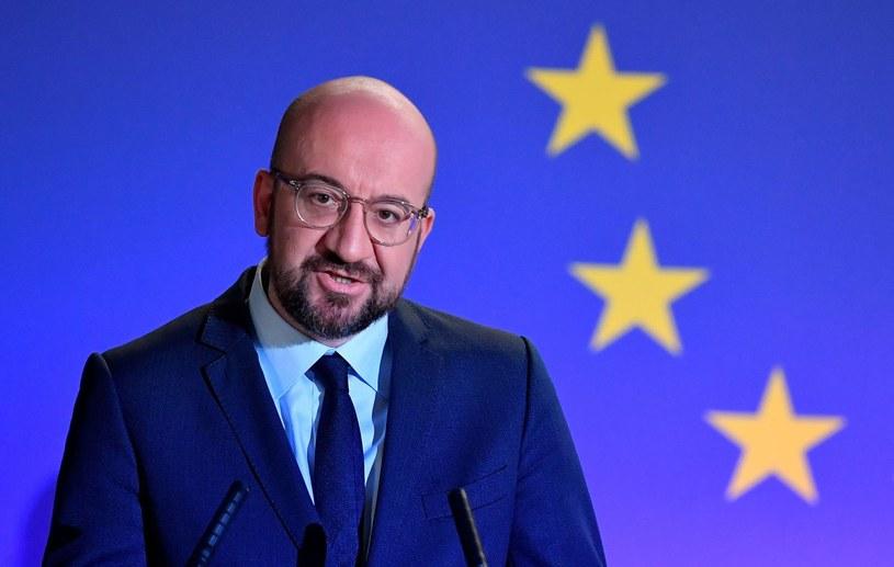 Charles Michel, szef Rady Europejskiej /AFP