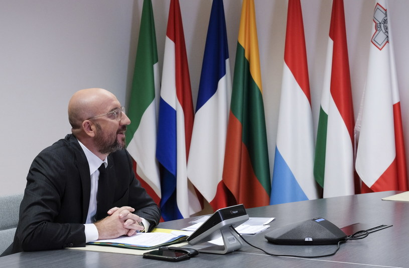 Charles Michel /OLIVIER HOSLET /PAP/EPA