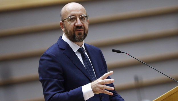 Charles Michel /Francisco Seco / POOL /PAP/EPA