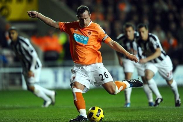 Charlie Adam - największa gwiazda Blackpool /AFP