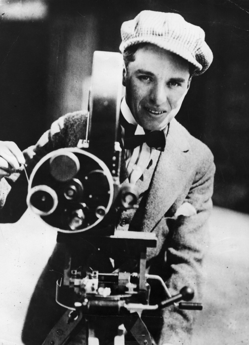 Charlie Chaplin w 1915 roku /Keystone /Getty Images