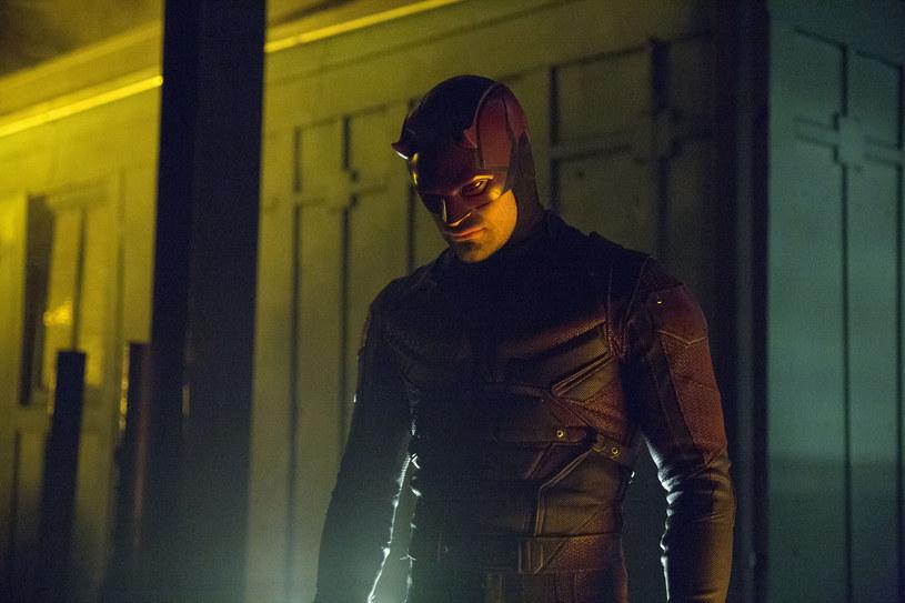 Charlie Cox jako Daredevil /Patrick Harbron/Netflix /materiały prasowe
