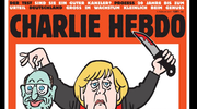 Charlie Hebdo szokuje okładką z kanclerz Niemiec