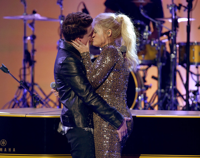 Charlie Puth i Meghan Trainor /Kevin Winter /Getty Images