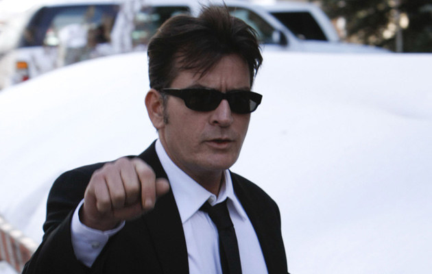 Charlie Sheen, fot.Riccardo S. Savi  /Getty Images/Flash Press Media