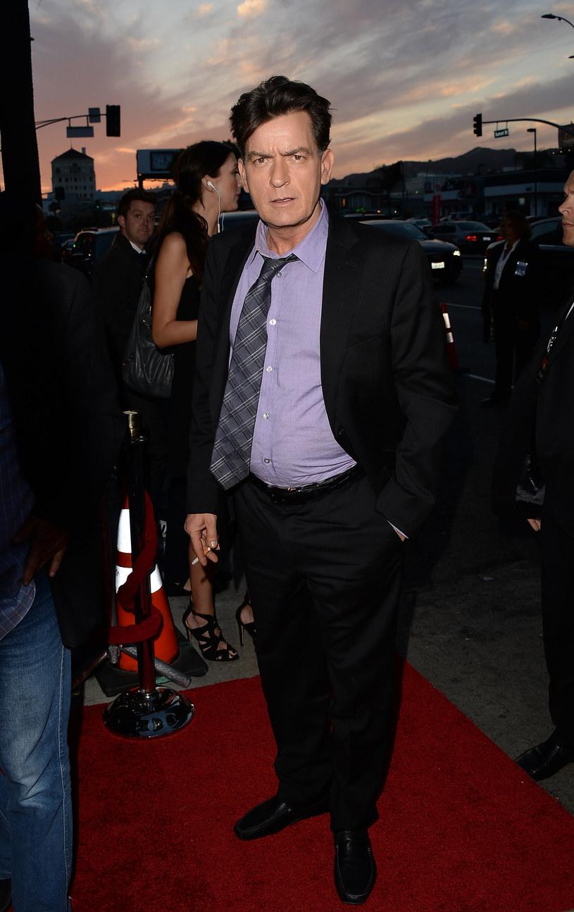 Charlie Sheen słynie z trudnego charakteru /Jason Merritt /Getty Images