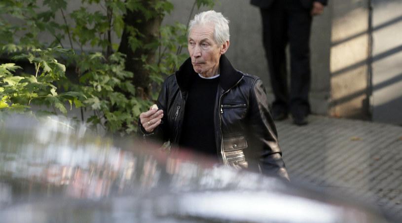 Charlie Watts w Paryżu /AFP/EAST NEWS /East News