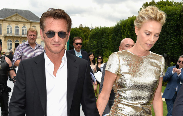 Charlize Theron i Sean Penn są parą od roku /Pascal Le Segretain /Getty Images