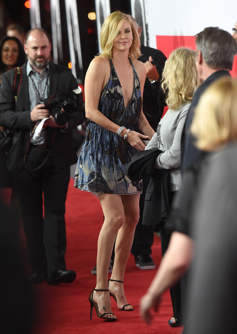 Charlize Theron, marzec 2015 r. /Jason Merritt /Getty Images