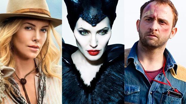 Charlize Theron na Dzikim Zachodzie, Angelina Jolie wyposażona w rogi i Borys Szyc... z opuchlizną /materiały prasowe