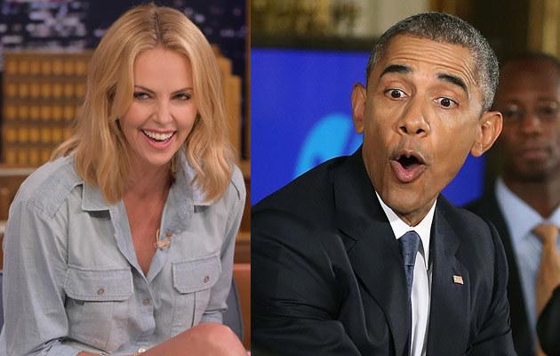 Charlize Theron złożyła Obamie ciekawa propozycję /The Wargo/NBC, Mark Wilson /Getty Images