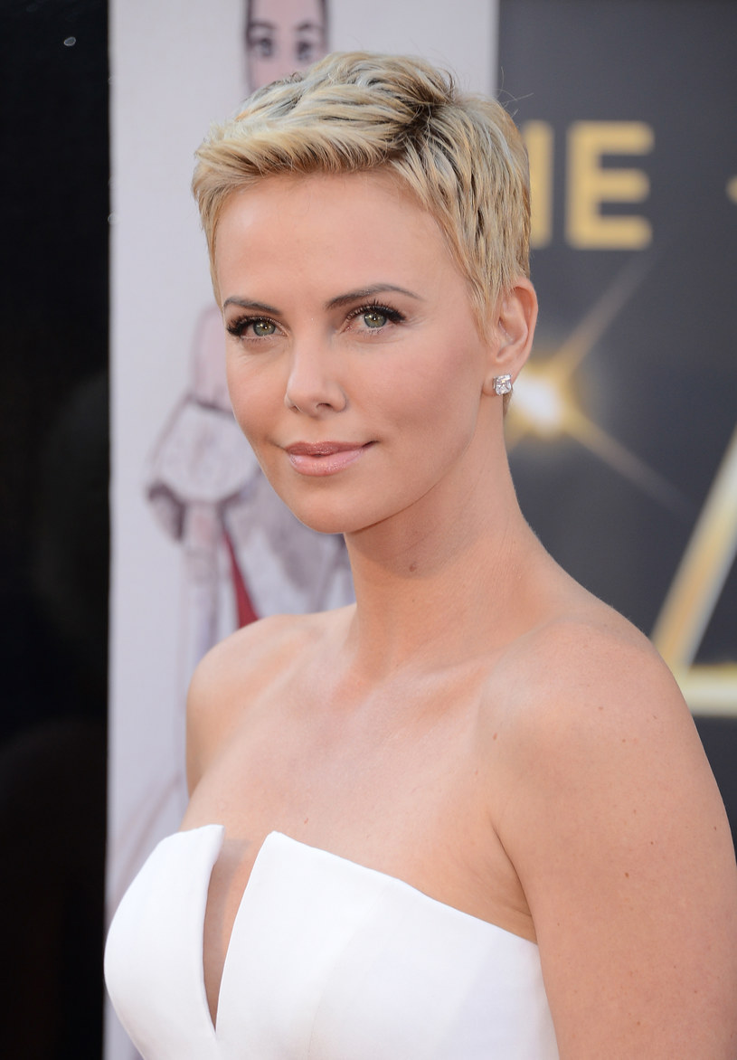 Charlize Theron /- /Getty Images