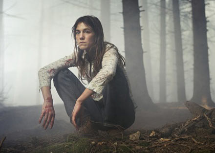 """Charlotte Gainsbourg za rolę w """"Antychryście"""" otrzymała canneńską Złotą Palmę /materiały dystrybutora"""