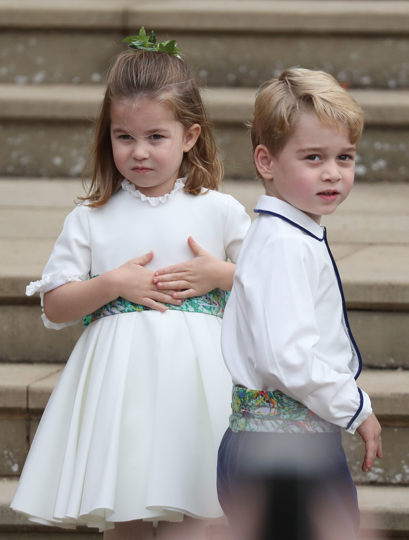 Charlotte i George /Steve Parsons    /Getty Images