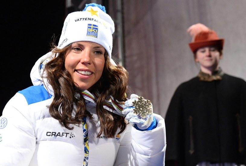 Charlotte Kalla na razie jest daleka od medalowej formy /AFP