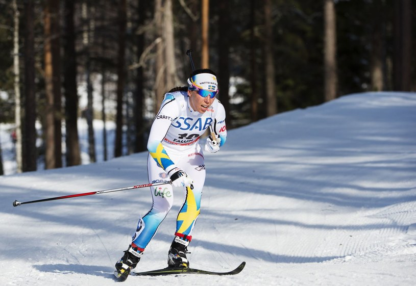 Charlotte Kalla, szwedzka biegaczka narciarska /AFP