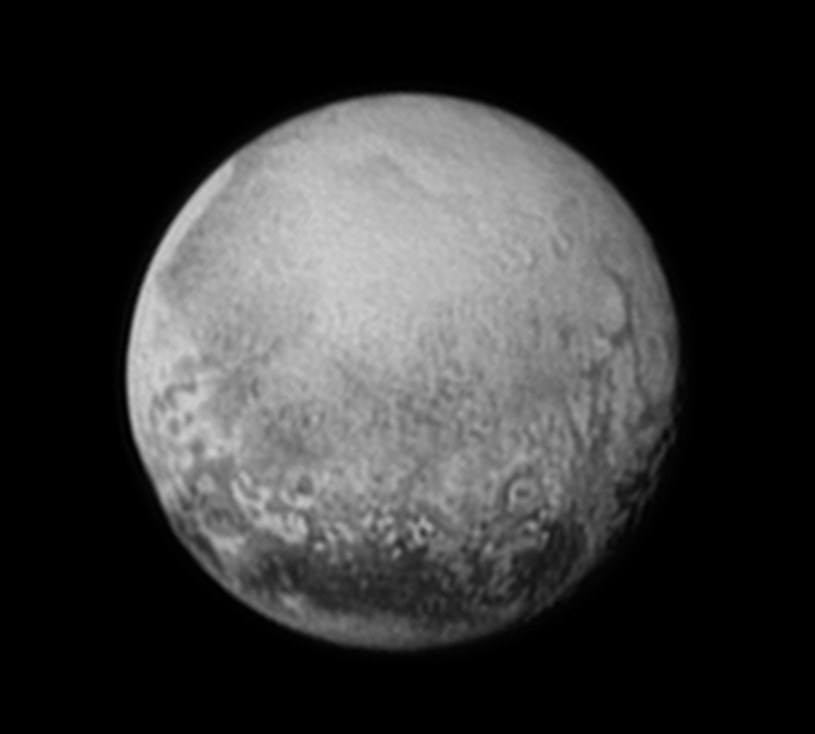 Charon, księżyc Plutona /NASA