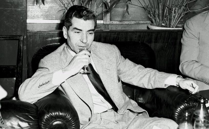 Charrls Lucky Luciano, wspólnik i przyjaciel Lansky'ego /Wikimedia Commons /INTERIA.PL/materiały prasowe