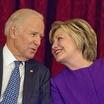 """""""Chciałabym, żebyś już teraz był prezydentem"""". Hillary Clinton poparła kandydaturę Joe Bidena"""