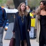 Chelsea Chlinton w drodze na spektakl baletowy