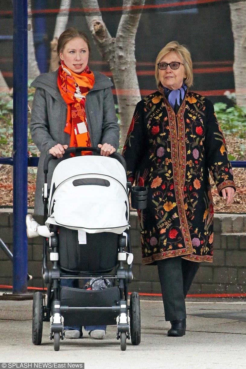 Chelsea Clinton i Hillary Clinton /East News