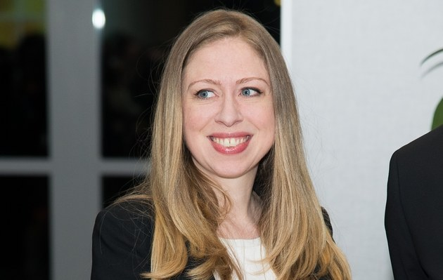 Chelsea Clinton /- /Getty Images