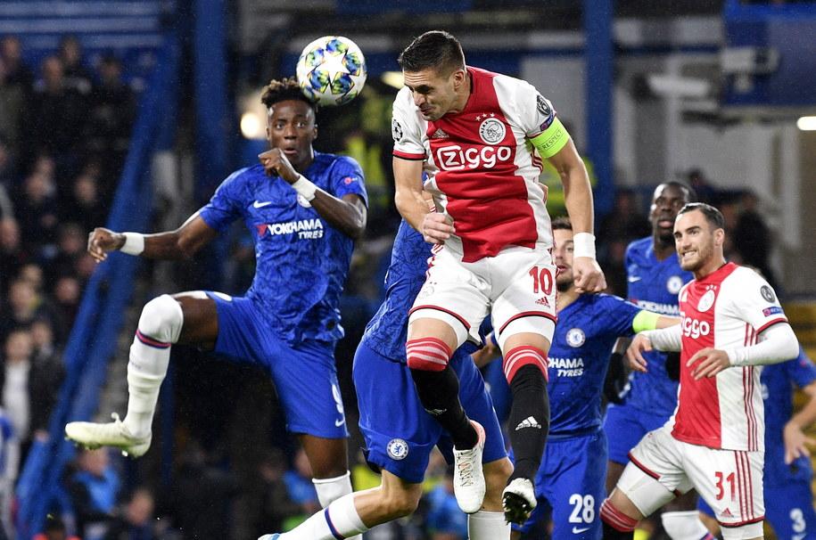 Chelsea FC vs Ajax Amsterdam /NEIL HALL /PAP/EPA