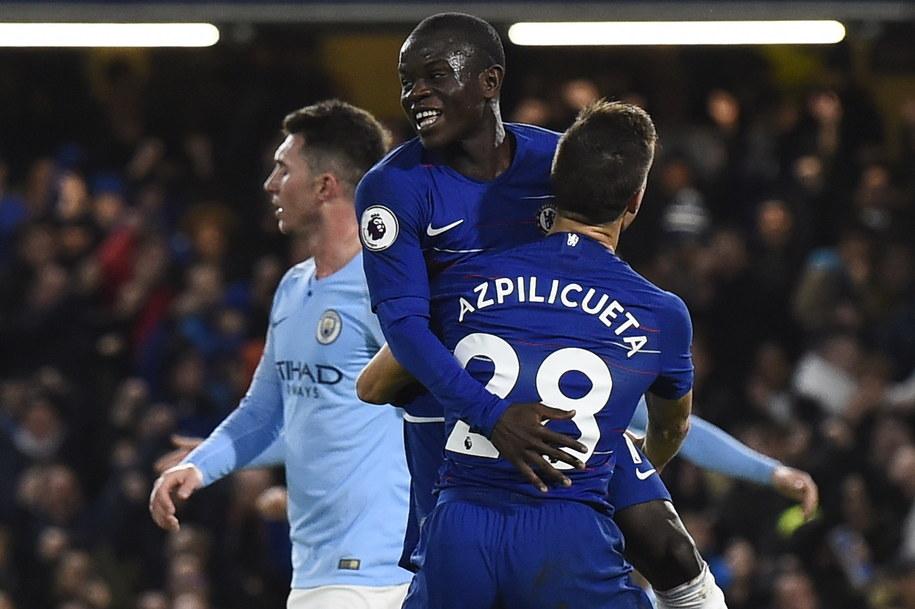 Chelsea jako pierwsza drużyna w tym sezonie pokonała Manchester City /WILL OLIVER  /PAP/EPA