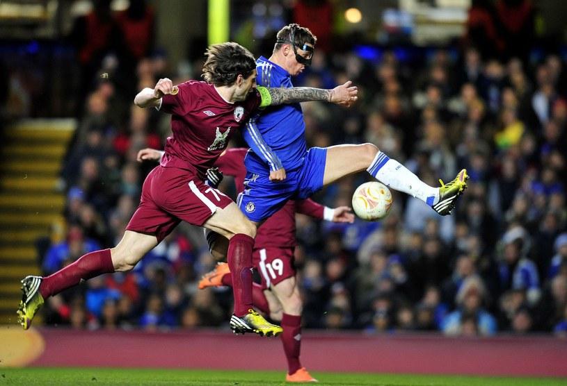 Chelsea jest faworytem starcia z Rubinem Kazań /AFP