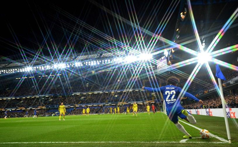 Chelsea Londyn - BATE Borysów /AFP