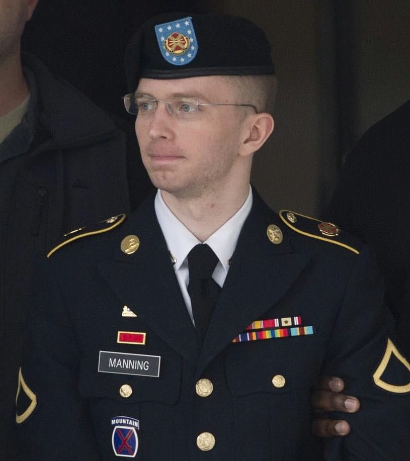Chelsea Manning w 2013 roku, jeszcze jako Bradley /AFP
