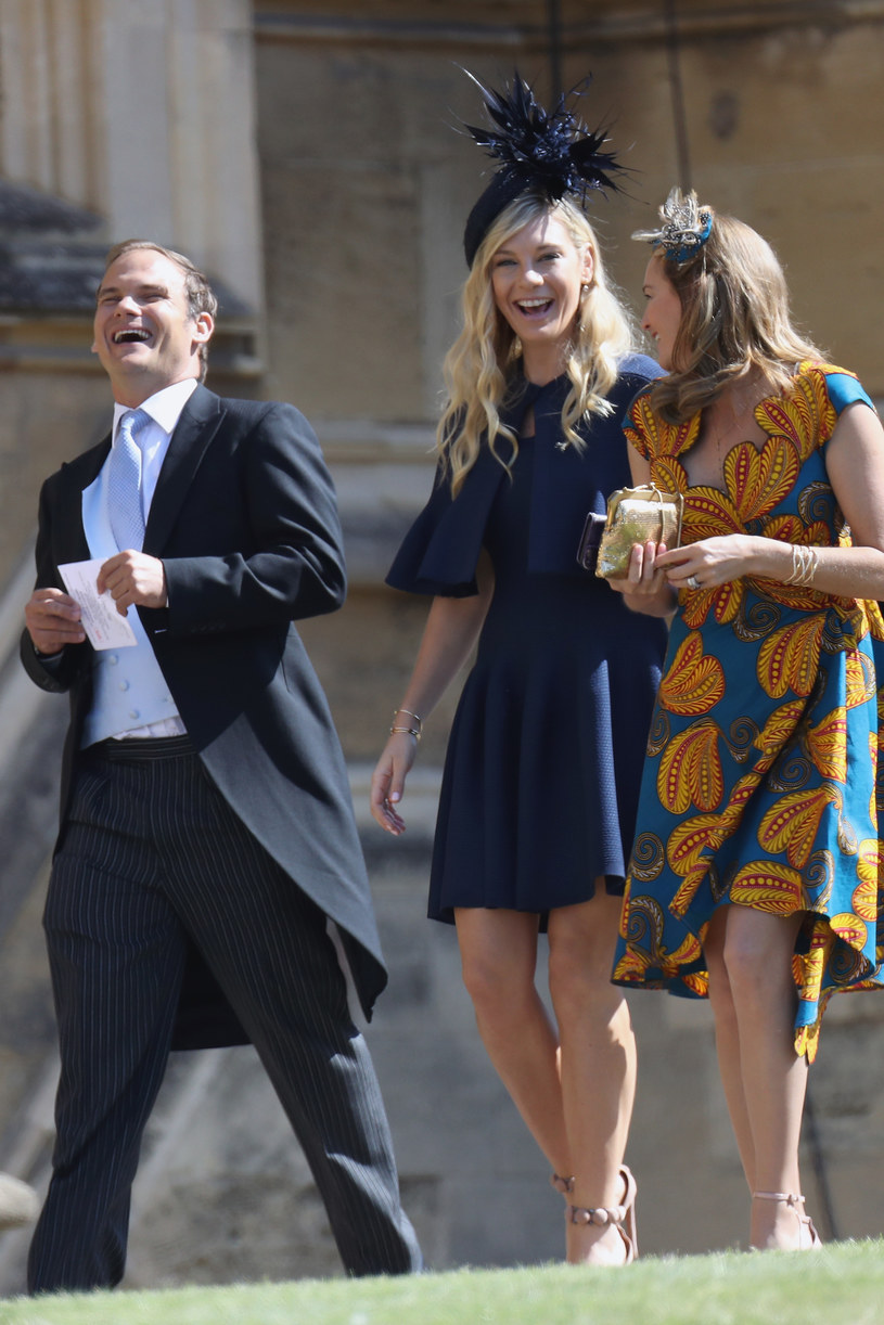 Chelsy Davy na ślubie Meghan i Harry'ego /Chris Jackson /Getty Images