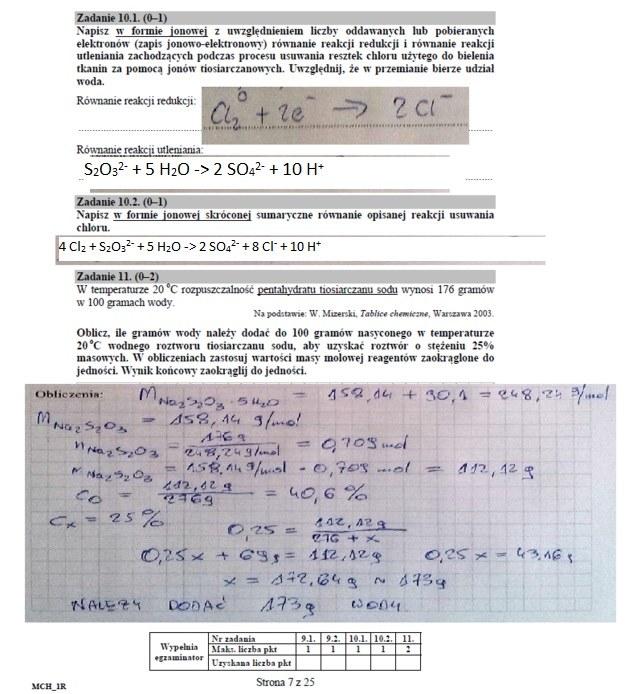Chemia, matura 2016 /INTERIA.PL