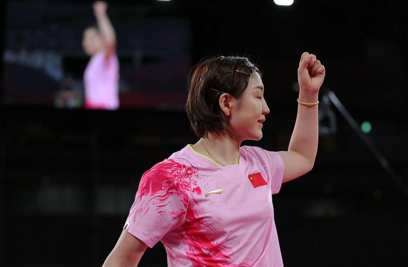 Chen Meng w finale pokonała swoją rodaczkę /Wang Dongzhen/Xinhua News/East News /East News