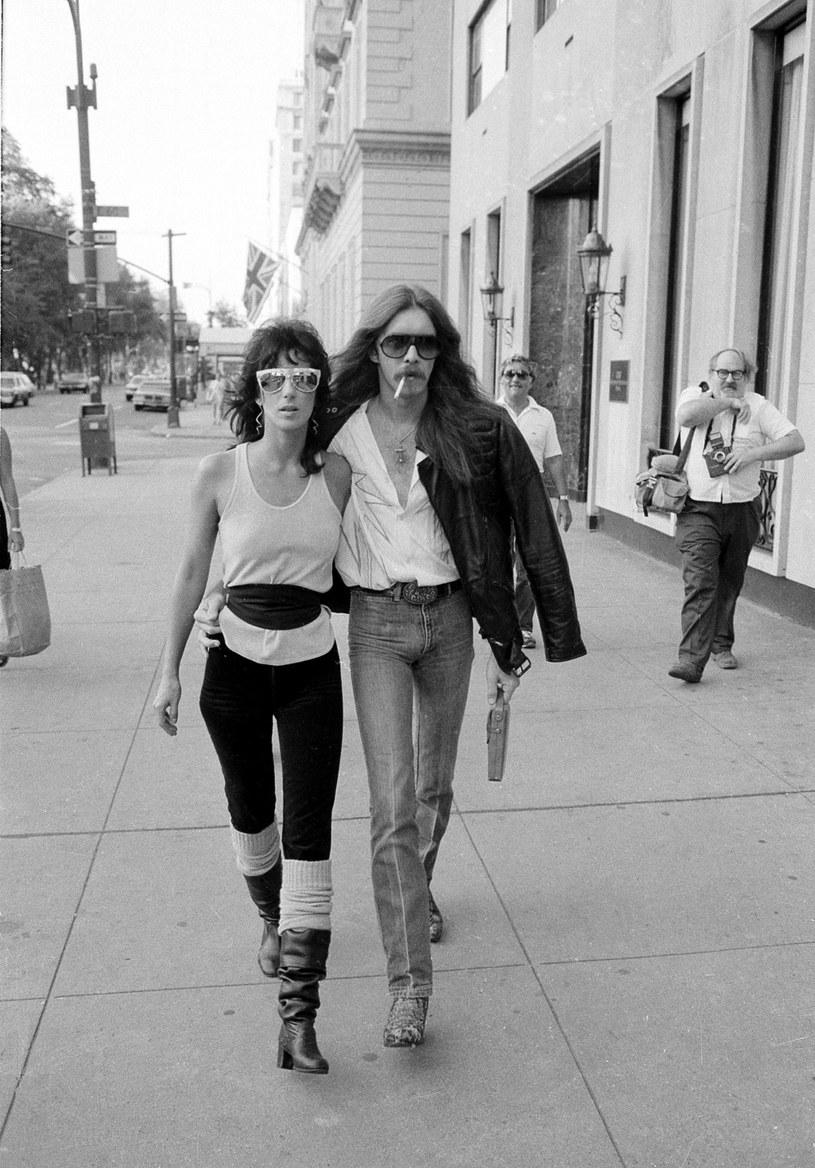Cher i gitarzysta Les Dudek /AP/FOTOLINK /East News