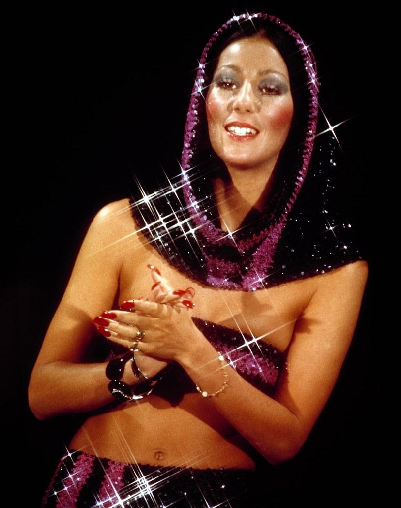 Cher w latach 70. /Everett Collection /East News