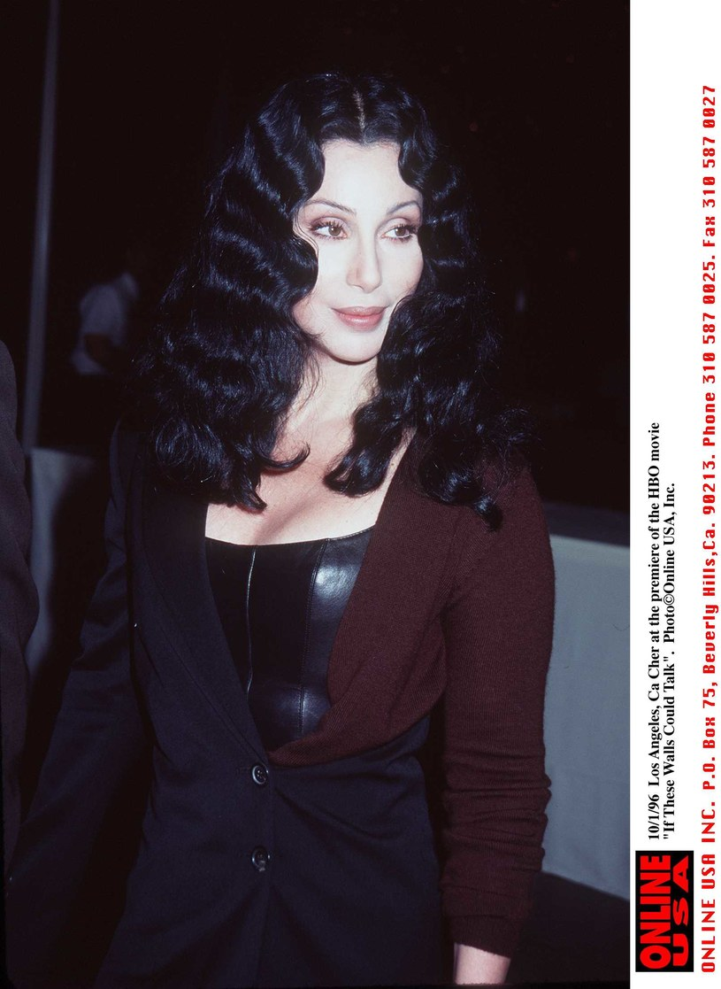 Cher w latach 90. /Hulton Archive /Getty Images