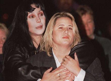 Cher z córką Chastity /arch. AFP