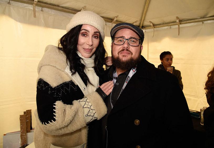 Cher z synem Chaz'em Bono /Getty Images
