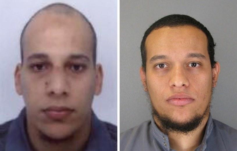 Cherif Kouachi (L) i Said Kouachi (P) /AFP