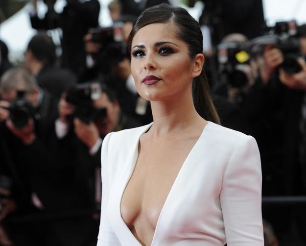 Cheryl Cole na czerwonym dywanie w Cannes /AFP