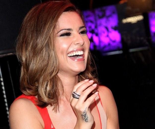 Cheryl Cole nabiera kilogramów fot. Sean Gallup /Getty Images/Flash Press Media