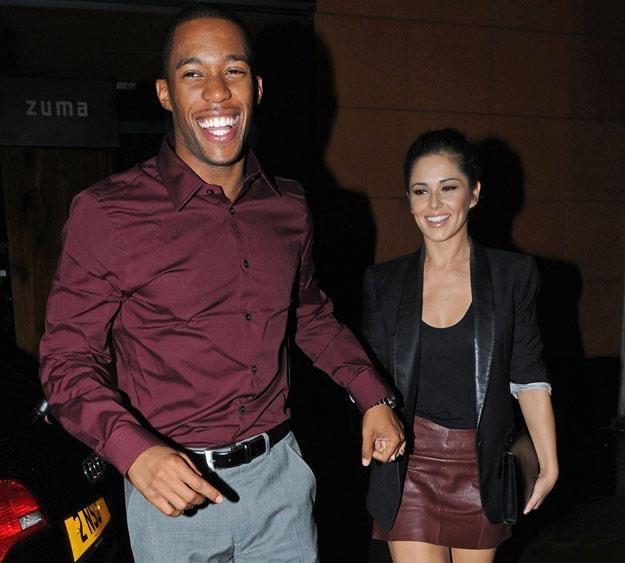 Cheryl Cole z byłym chłopakiem, ale wciąż przyjacielem (fot. Copetti/Photofab/Rex Features) /East News