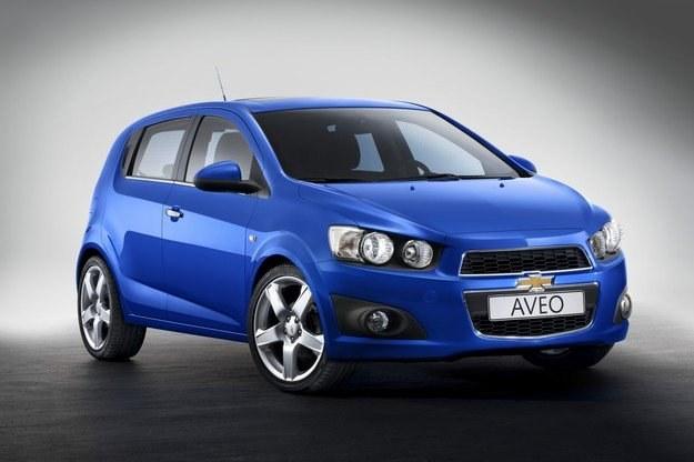 Chevrolet aveo hatchback /