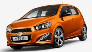 Chevrolet Aveo RS trafi do Europy?