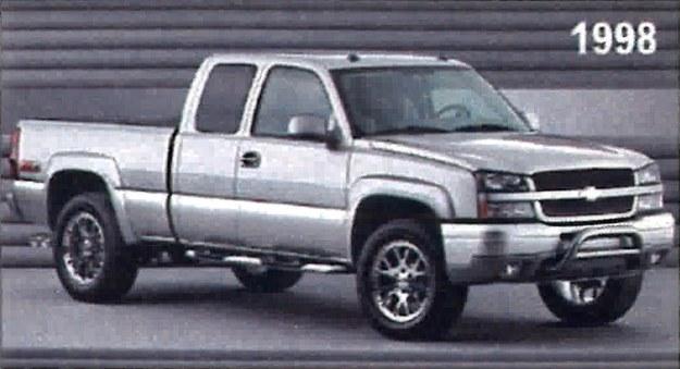 chevrolet c/k następca /Chevrolet