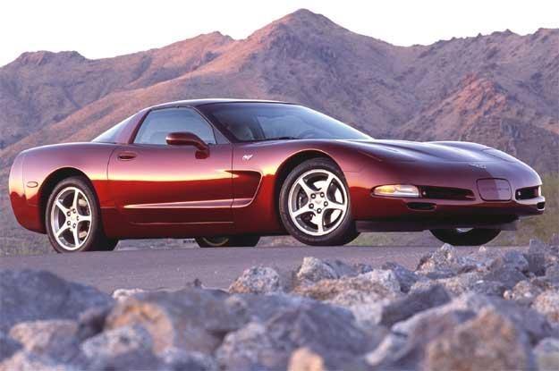 Chevrolet Corvette 50th Anniversary Edition. Rocznik 2003 /