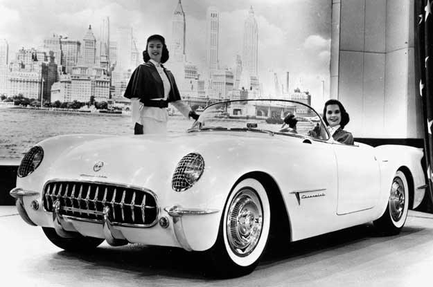 Chevrolet Corvette  z 1953 roku /