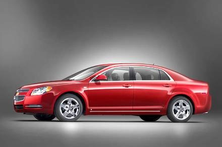 Chevrolet malibu / Kliknij /INTERIA.PL